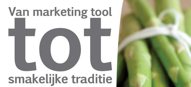 Van marketing tool tot smakelijke traditie
