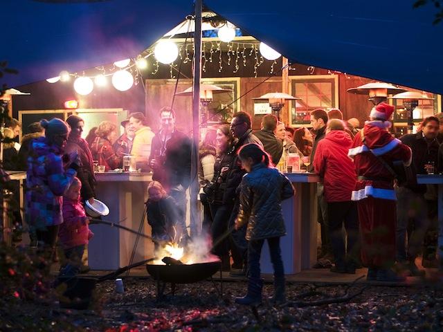 Verrassende locaties voor Kerstbomen in de Akker 2014