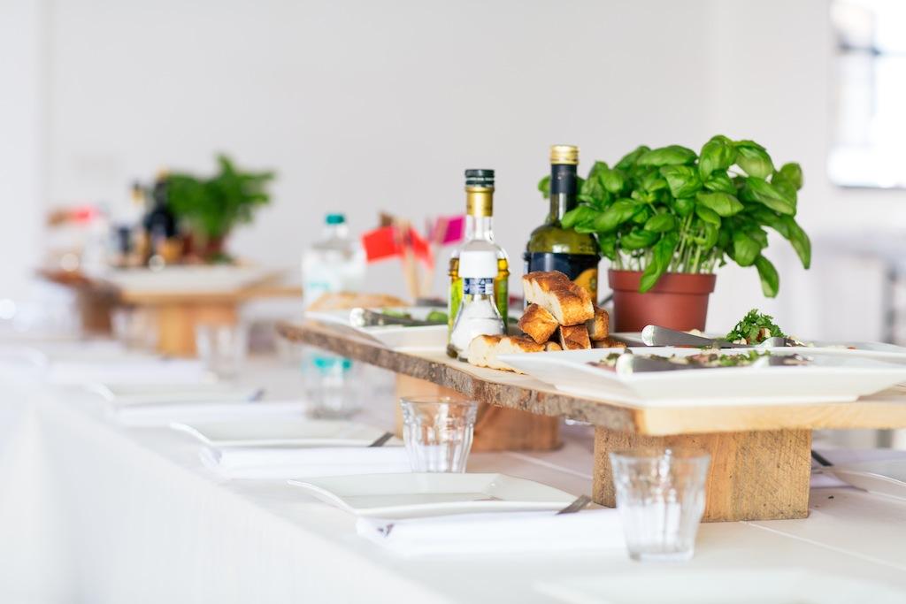 mooie! food foto op houtplanken